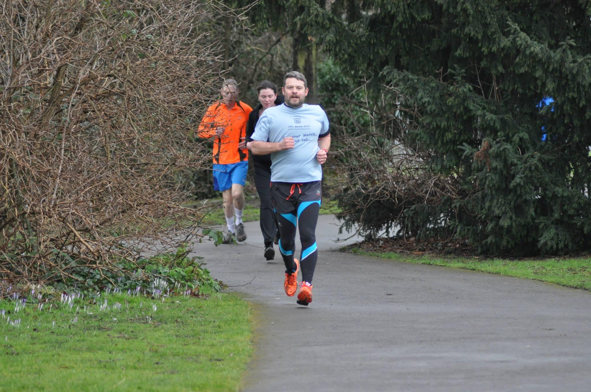 Brian Downton Royal Parks Half Marathon